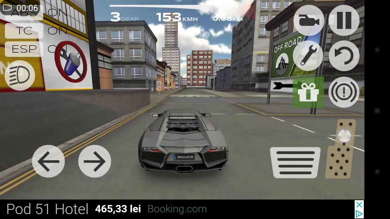 Jocuri cu masini Lamborghini Aventador