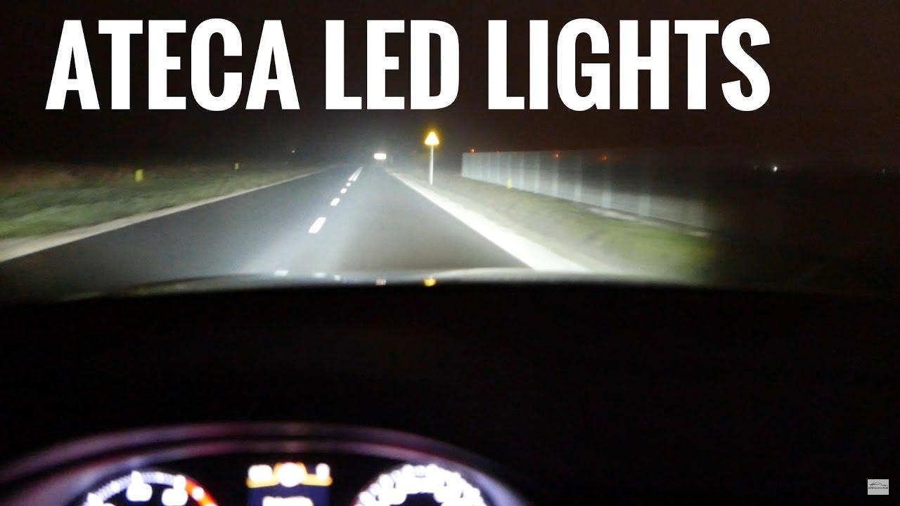 2017 SEAT ATECA Led Lights MEGA TEST 2 [Jazda Testowa] Próbna PL