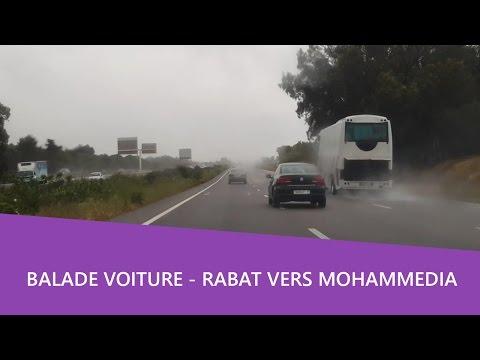 Balade voiture 🚘 rabat vers mohammedia par la route cotiere 🌁