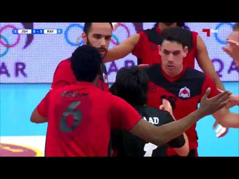 Emir Cup, Qatar: Wilfredo Leon nails the ball into the floor