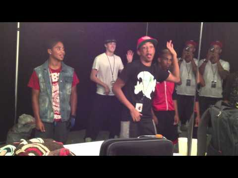 Mindless Behavior learning Choreo to Jacob Latimore's You Come First Part 3