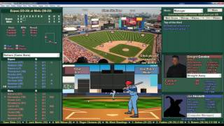 2016 Baseball Mogul Replay 1986 Season Game Expos vs Mets