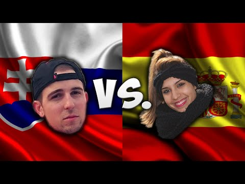 Language Challenge: Spain Vs. Slovakia (Madrid Vs. Bratislava)