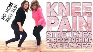 EFFECTIVE KNEE EXERCISES | PAIN RELIEF, STRETCHING & STRENGTHENING