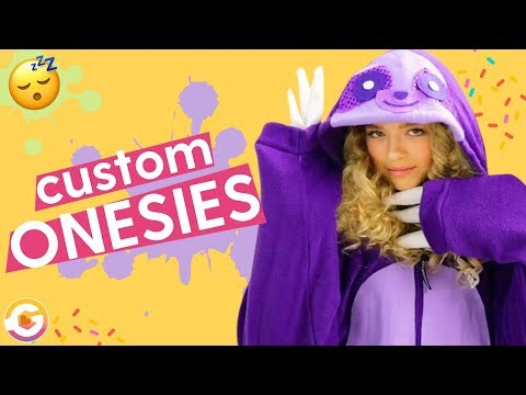 DIY Custom Onesies: Unicorns, Pikachu, Sloth Onesies | GoldieBlox