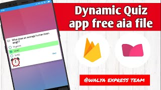 Earn & play | Dynamic Quiz App | Free Aia | with time System Makeroid 😱