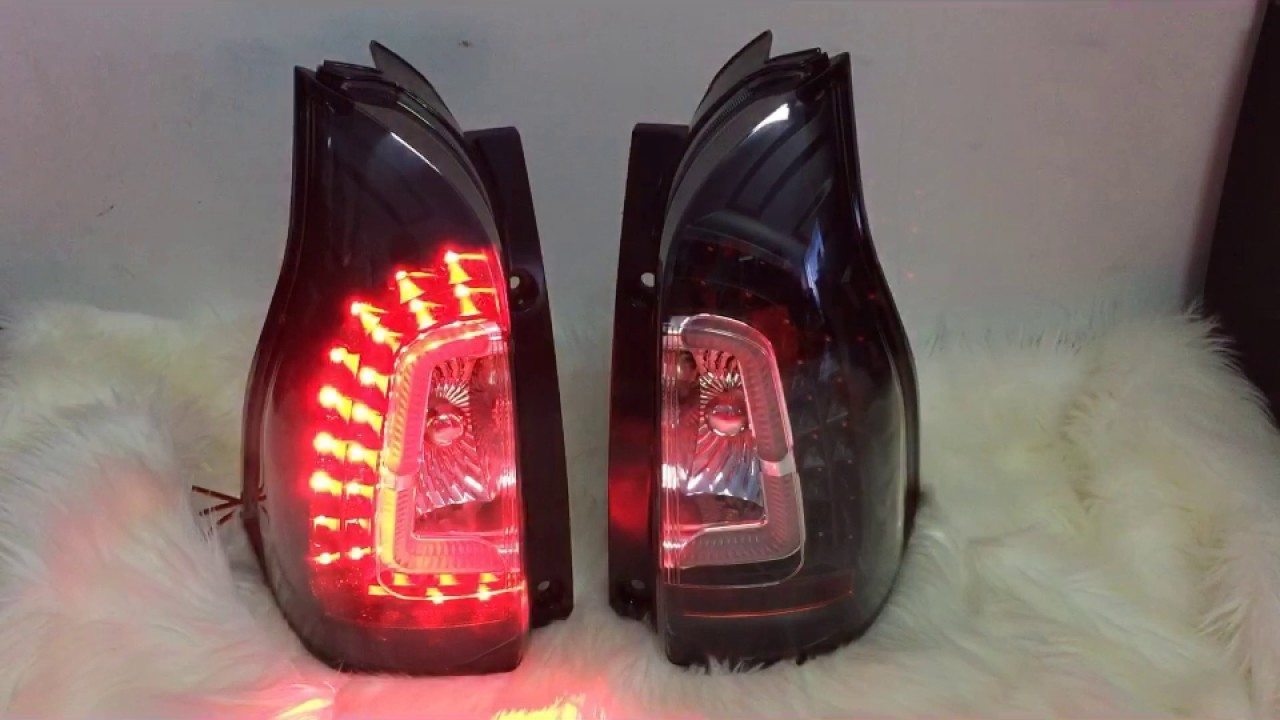 lampu stop grand new veloz lamp avanza axis black for all xenia youtube