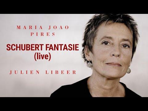 Maria João Pires & Julien Libeer play Schubert Fantasy in F minor, op. 103 (live)