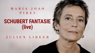 Maria João Pires & Julien Libeer play Schubert Fantasy in F minor, op. 103 (live)