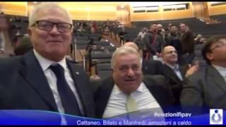 27-02-2017: #elezionifipav - Cattaneo, Bilato e Manfredi..emozioni a caldo