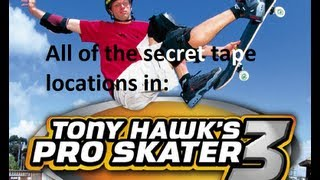Video All Tony Hawk's Pro Skater 3 Secret Tapes download MP3, 3GP, MP4, WEBM, AVI, FLV Juli 2018