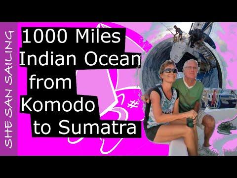 Indian Ocean - sailing 1000 miles from Komodo to Sumatra