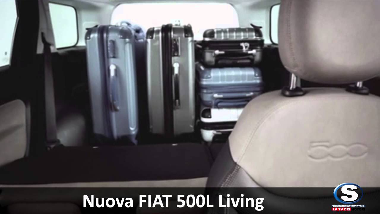 fiat 500l trekking e 500l living 2013 youtube. Black Bedroom Furniture Sets. Home Design Ideas
