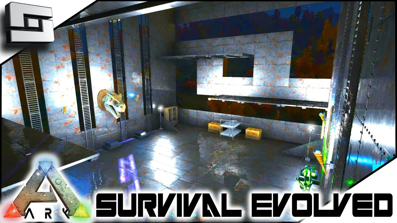 Ark Survival Evolved Interior Design S2e96 Gameplay Youtube