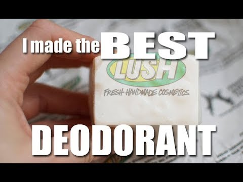 Make Natural Deodorant BETTER than Lush!! UPDATE on previous recipe!