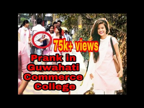 PRANK IN GUWAHATI COMMERCE COLLEGE || FISH/MACHLI PRANK || PRANK IN ASSAM
