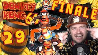 FINALE! - Epischer Wettlauf gegen die Zeit 🍌 DONKEY KONG 64 #29