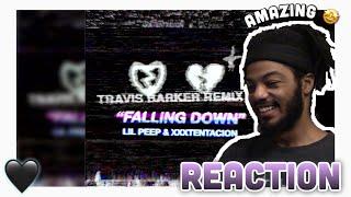 Lil Peep & XXXTENTACION - Falling Down (Travis Barker Remix) (Reaction)