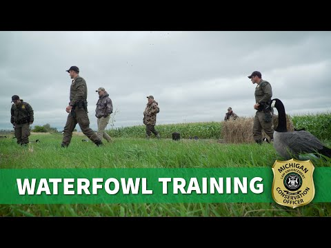 Michigan Conservation Officer: Waterfowl Training