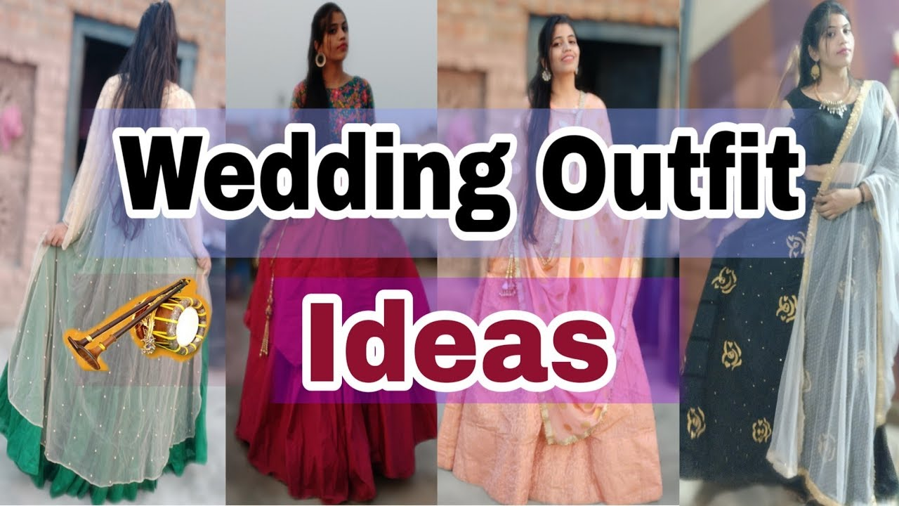 Wedding outfit ideas design| wedding outfits look book | neshafashion 2