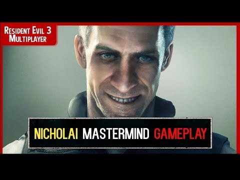 Resident Evil Resistance - NICHOLAI Mastermind GAMEPLAY🔴