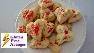 Gluten Free Buttery Spritz Cookies