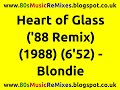 watch he video of Heart of Glass ('88 Remix) - Blondie | 80s Dance Music | 80s Club Mixes | 80s Club Music | 80s Pop