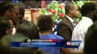 Hattiesburg police officer laid to rest