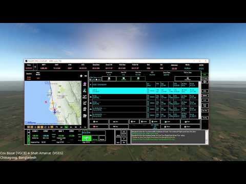 Review Pilot2ATC for flight sim X-Plane FSX P3D as complete ATC solution (Cox's Bazar ✈ Chittagong)