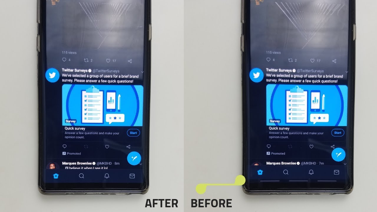 Hide / Remove Navigation Bar on Galaxy S9 and Note 9 | OneUI