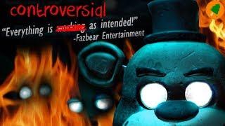 FNAF Teaser Image SCANDAL!!!! (and analysis)