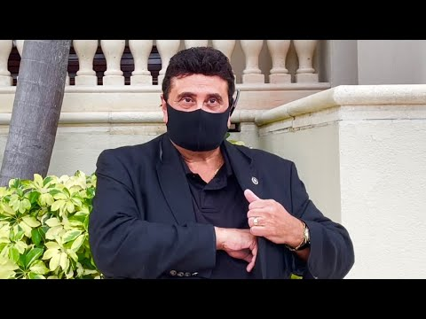 scientology man gets triggered over cameraman recording church (EPIC FAIL)