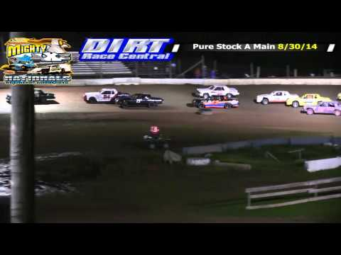 North Central Speedway 2014 Mighty Axe Pure Stock Races Both Nights