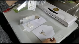 DIY Foil Laminating with DesignfullyTemplates.com
