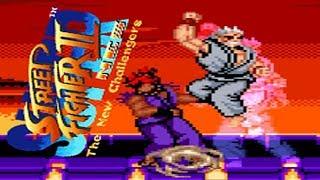 SUPER STREET FIGHTER II 【NES EDITION】  - PC LONGPLAY - SHENG LONG PLAYTHROUGH - NO DEATH  RUN