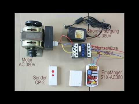 Funkscahlter AC380V 9KW Pumpe Motorleistung Drei-Phasen-Tauchpumpe ...