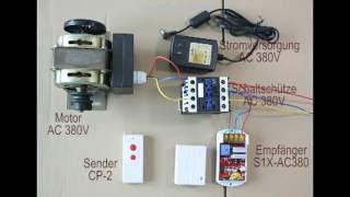 Funkscahlter AC380V 9KW Pumpe Motorleistung Drei-Phasen-Tauchpumpe Motorsteuerung ELEKTROMOTOR