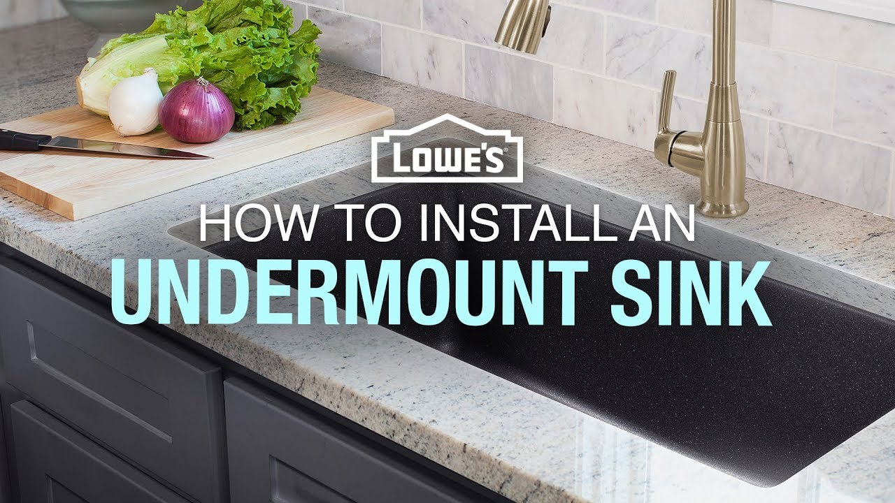 How To Replace And Install An Undermount Sink You