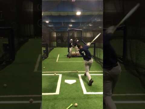 mike villa Lackawanna College Baseball Hitting