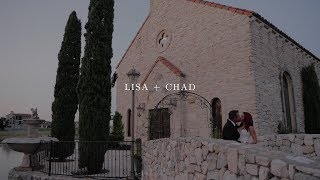 Lisa + Chad Sneak Peek Film at Bella Donna Chapel Adriatica | Zpro Films