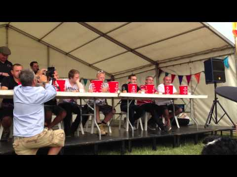 Dorset Chilli Eating Comp Sunday 4th August 2013 Part 1