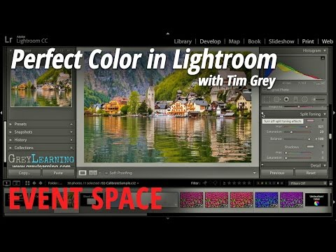 Perfect Color in Lightroom with Tim Grey