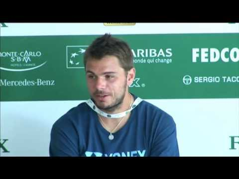 Wawrinka Discusses Murray Win In Monte-Carlo