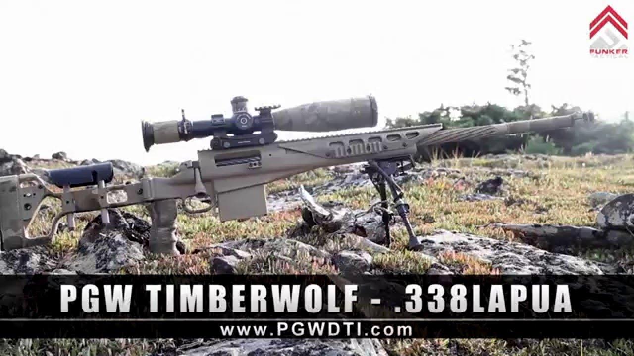 The PGW Timberwolf in .338 Lapua | Specs & Beauty Shots Video