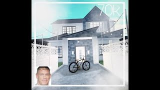 Small, Garden Home | Bloxburg Speed Build | 70K | Roblox