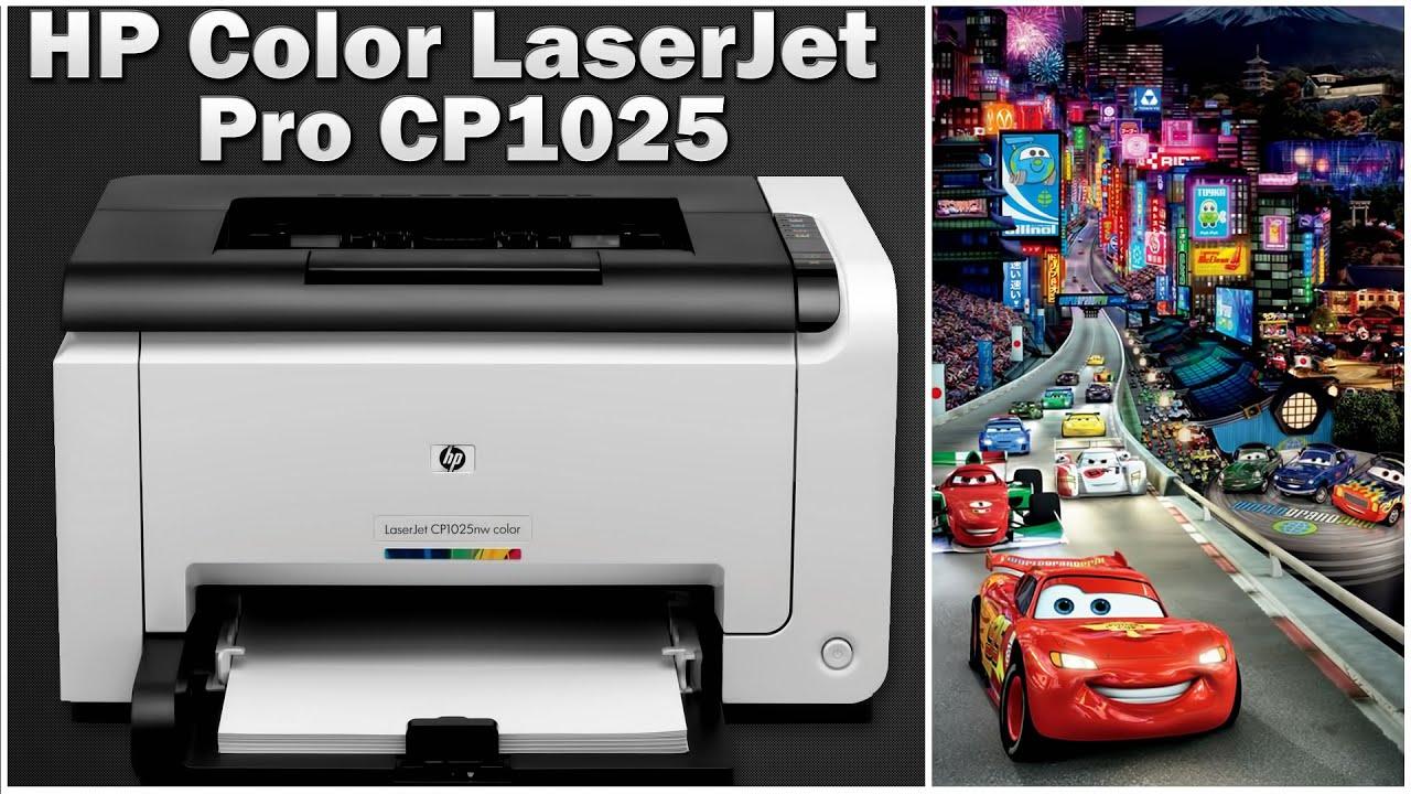 Обзор принтера HP Color LaserJet Pro CP1025 (CF346A) Цветной .