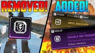 Apex Legends Season 3 Top Changes! - Disruptor Removed! New Hop-ups Added! + Legend Buffs/Nerfs!