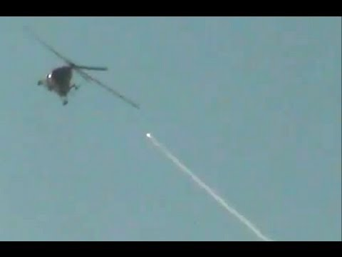 FSA rocket shoots down Assad helicopter - Truthloader