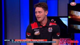 st kilda s own jack steven and his micro visit afl 360