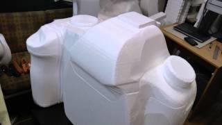 Создание 3D модели на станке для резки пенопласта СРП-3222(Станок для резки пенопласта СРП-3222 разработан как вариант с увеличенной площадью стола для изготовления..., 2015-08-13T06:06:52.000Z)